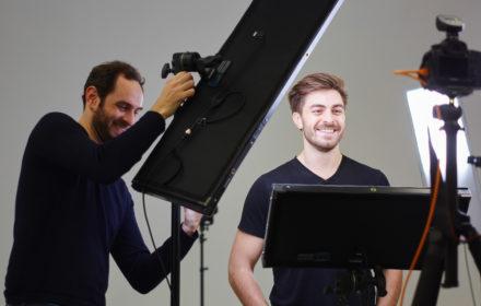 Le shooting de votre portrait professionnel